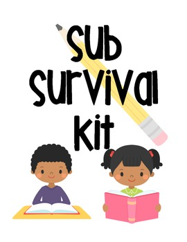 Ultimate Substitute Survival Kit for Elementary Teachers