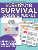 Substitute Survival and Thrive-al Packet