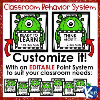 Substitute Teacher Behavior System using Class Dojo