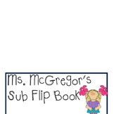Substitute Teacher Flip Book