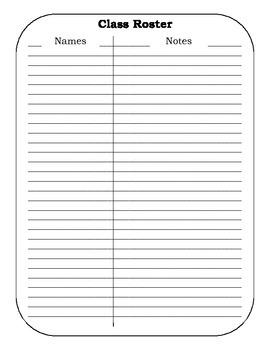 Substitute Teacher Folder by Brandon Flatt