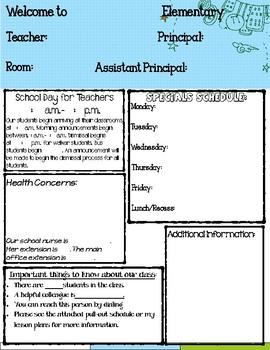 Substitute Teacher Guide