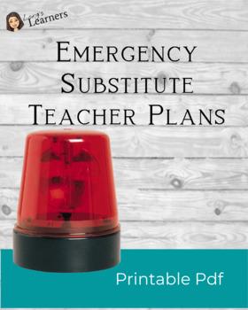 Substitute Teacher Ideas