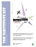 Substitute Teacher Instructions Kit - Interactive Forms