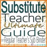 Substitute Teacher Guide - Substitute Teacher Plans and Printables