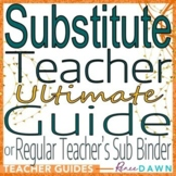 Substitute Teacher Guide - Substitute Teacher Plans and Printables