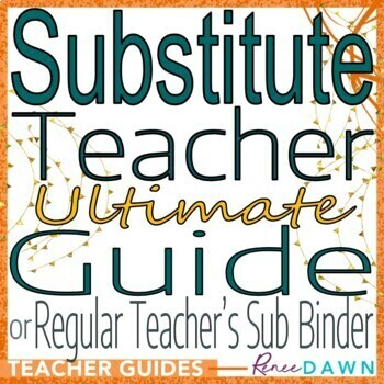 Substitute Teacher Ultimate Guide - Substitute Teacher Plans and Printables