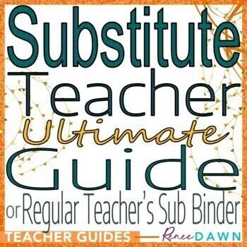 Substitute Teacher Guide - Substitute Teacher Plans and Pr