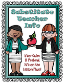 Substitute Teacher Lapbook