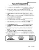 Substitute Teacher Lesson Plan - Natural Disasters (Middle School)