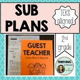 Substitute Teacher Lesson Plans for Grade 2