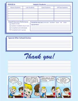 Kindercade Substitute Teacher Packet