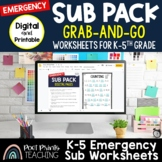 Emergency Substitute Teacher Lesson Plans