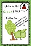 Substitute Teacher Plans: Where is the Green Sheep by Mem