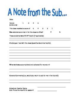 substitute teacher resume
