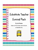 Substitute Teacher Survival Packet for the Elementary Grades