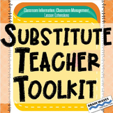 Substitute Teacher Toolkit:  Sub Binder for your classroom