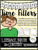 Substitute Time Fillers