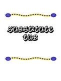 Substitute Tub Cover