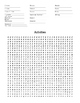 Word Search Packet - Great for subs or extra time!