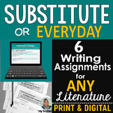 Substitute or Everyday Writing Activities for ANY Literature - Standards-Aligned