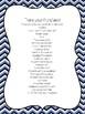 Substitute or Teacher EDITABLE Binder School Colors Blue White INSERT YOUR LOGO!