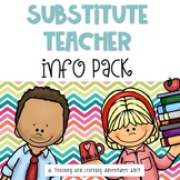Substitute teacher information pack