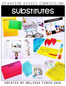 Substitutes- Behavior Basics Program for Special Education