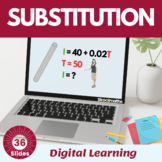 Substituting formulae and expression - 9th -10th grade, UK GCSE