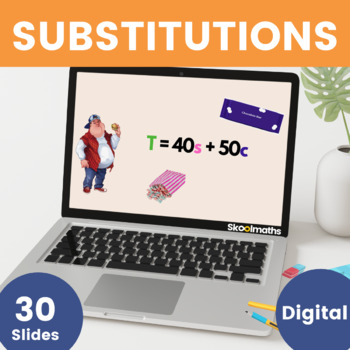 Substitution - 7th - 8th grades, key stage 3