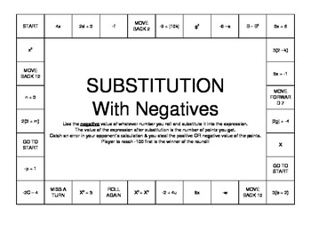 Substitution Board Game