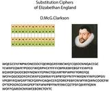 Substitution Ciphers of Elizabethan England