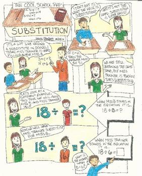 Substitution Lesson (Pre-Algebra)