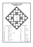 Substitution No 2 (Cross-Number Puzzle)