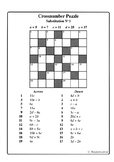 Substitution No1 (Cross-number Puzzles)