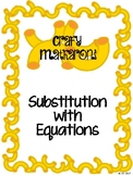 Substitution with Equations