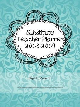 Substitutle Planner with a contract for life
