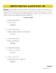 Characterization Mini-lesson: Literary Elements & Writing