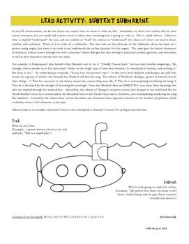 Characterization Mini-lesson: Literary Elements & Writing Analysis {COMMON CORE}