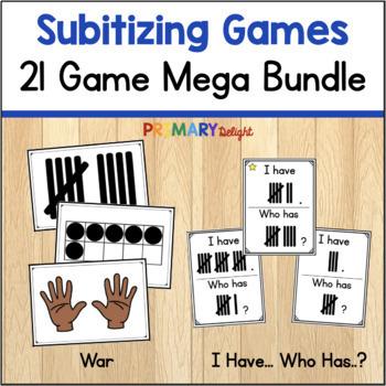 Subitizing Mega-Bundle
