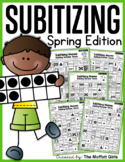 Subitizing (Number Sense) Spring Edition