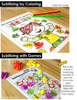Subitizing (Number Sense) The Bundle!