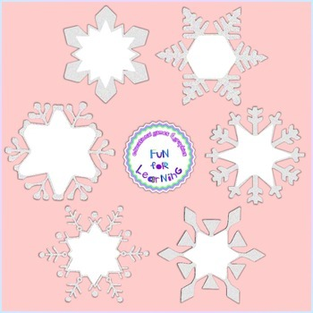 Sparkly Winter Papers & Frames