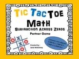 Subtract Across Zero Tic Tac Toe Game