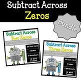 Subtracting Across Zeros Bundled