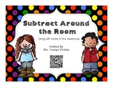 Subtract Around the Room-Using Qr Codes