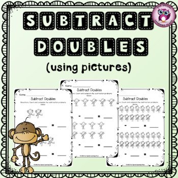 Subtract Doubles { with pictures }