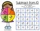 Subtract From 10 - Game boards for fluency