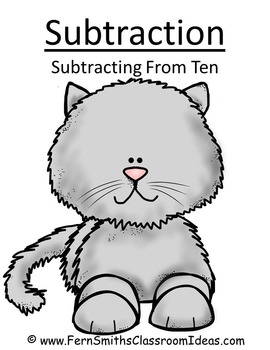 Subtraction Center Game A Quick and Easy to Prep Center Subtract Zero