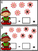 Subtract The Room (Minuends To 7) Christmas Candy